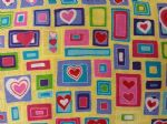 HEARTS - Fabric - Price Per Metre